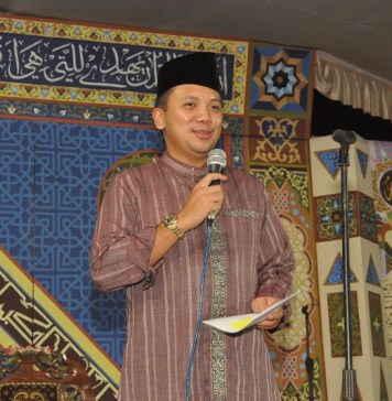 Gubernur Lampung Hadiri Pengajian Satu Muharam Di Desa Sumbersari Lampung Timur