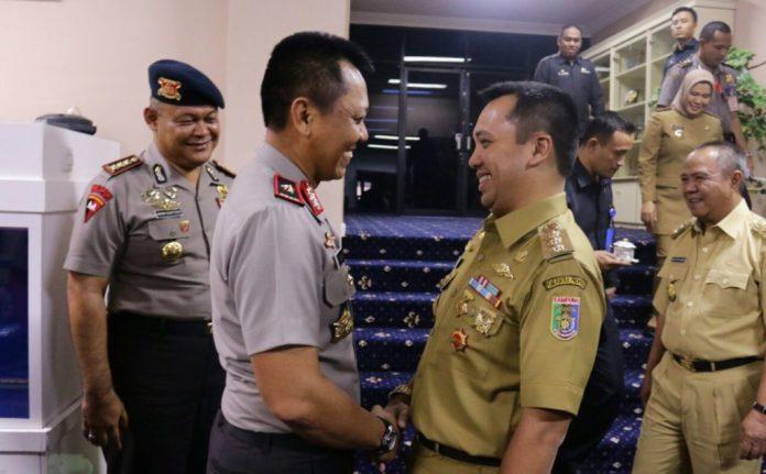 Gubernur dan Kapolda Bersama Menjaga Kamtibmas dan Memberantas Kriminalitas