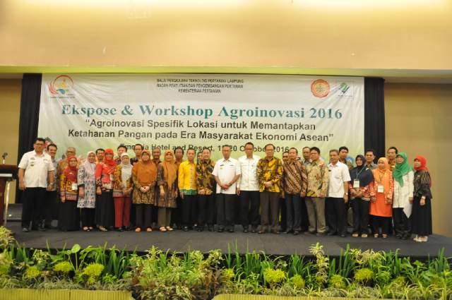 Lampung Akselerasi Pembangunan Pertanian dan Ketahanan Pangan Lewat Agroinovasi