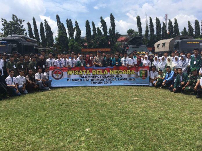 Pelajar dan Mahasiswa Se-Lampung Mendapatkan Pendidikan Bela Negara