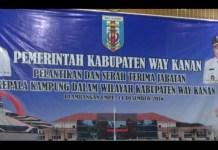 86 Kakam Terpilih Dilantik Bupati Raden Adipati Langsung Lantik Kepala Kampung