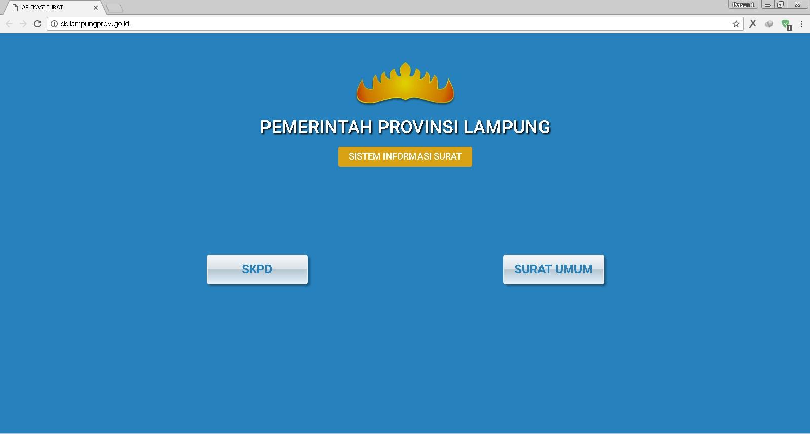 Pemprov Lampung Luncurkan Aplikasi Sistem Informasi Surat