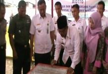 PLT Bupati Tanggamus Resmikan 243 Lapak Pedagang Pasar Gisting