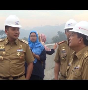 Gubernur Tinjau Kesiapan Jalan Tol Trans Sumatera Ruas Sabah Balau