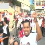 Dewi Persik Hipnotis Ratusan Warga Bandar Lampung