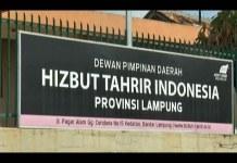 HTI Lampung Belum Turunkan Atribut