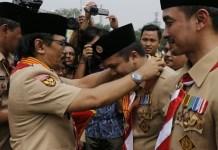 Hari Pramuka, Gubernur Lampung Raih Lencana Melati