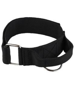 Raddog nylon halsband met handvat