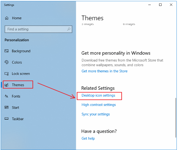 How to display My Desktop icon [Windows 10] | RR blog