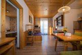 Wohn- & Essbereich der Ferienwohnung