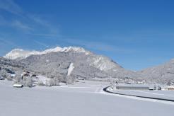 Sonne & Schnee im Winter