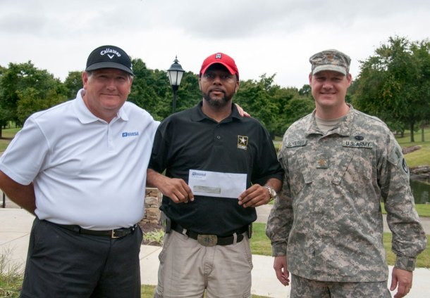 Radiance check to Army Emergency Relief