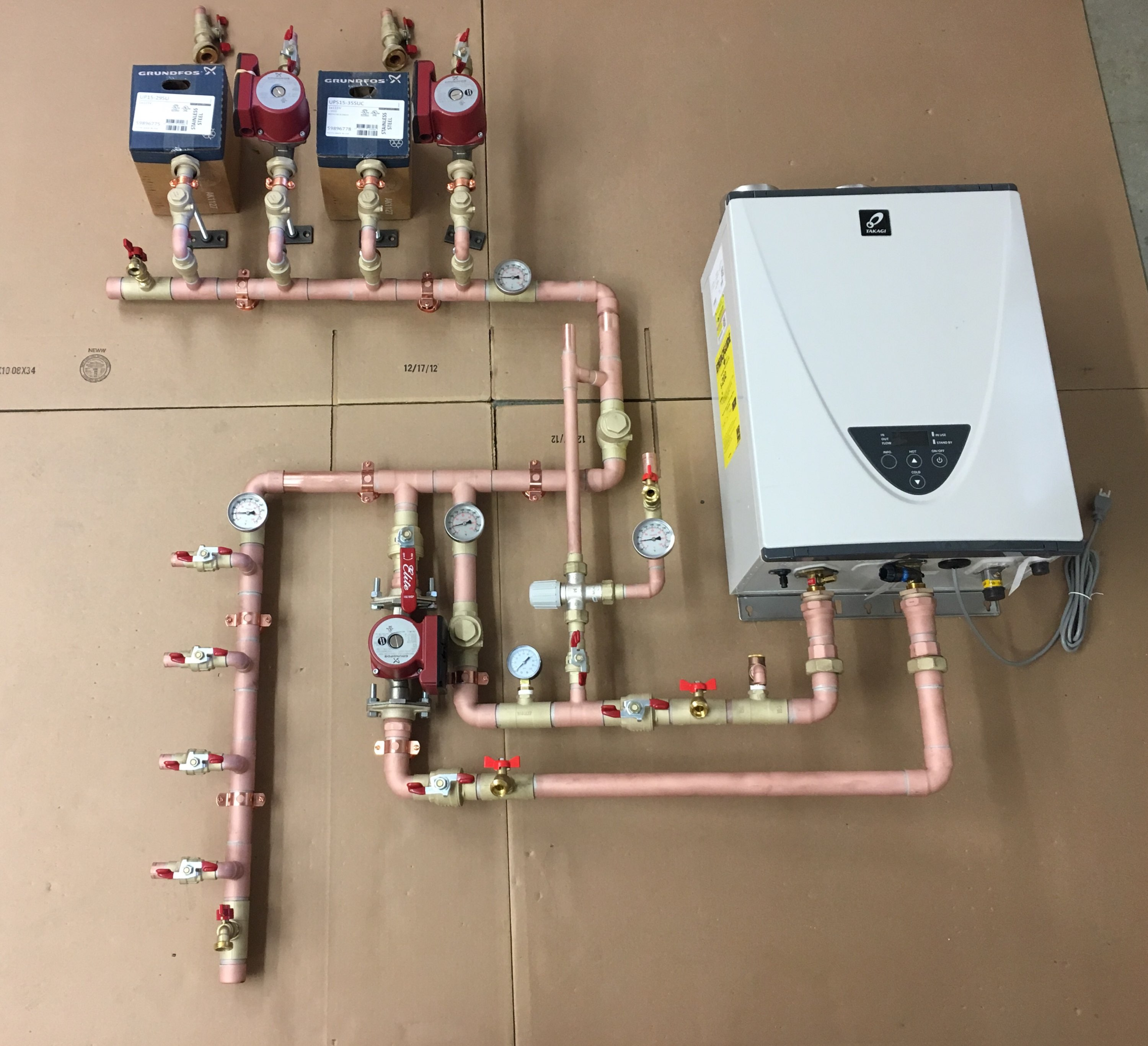 Multiple Zone Valves Controller Wiring