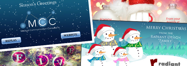 Sending Animated e-Cards instead of Christmas Cards   Radiant Web ...