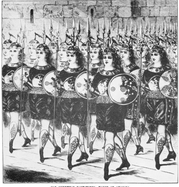 Amazons In Adamanta, 1874