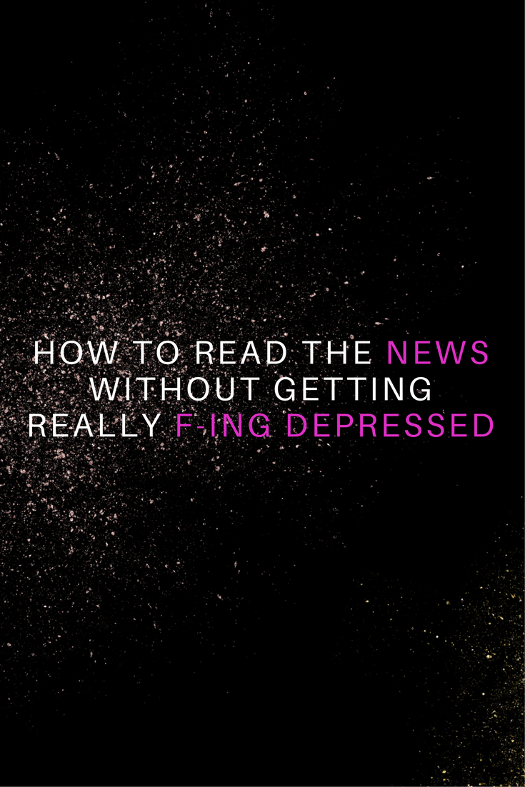 How to Read the News Without Getting Depressed