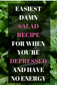 salad for depression