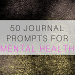 Journal Writing Prompts for Depression and Anxiety