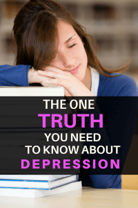 TRUTH ABOUT DEPRESSION