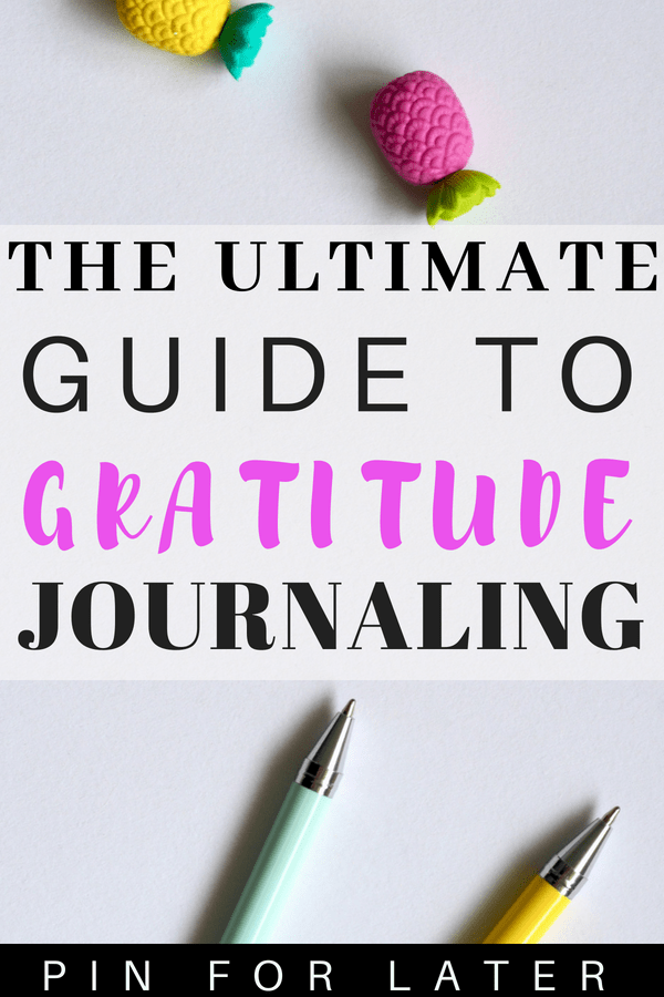 Check out these gratitude journal prompts to help you start using a gratitude journal to feel better #positivethinking #gratitude #mentalhealth #depression #journalprompts