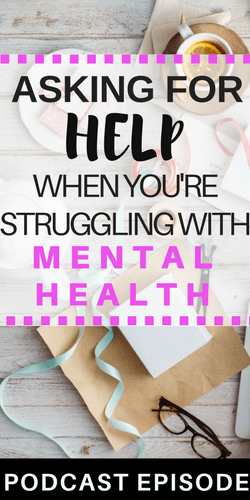 Mental Illness and Asking for Help