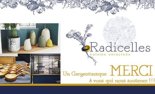 Restaurant Radicelles, merci !