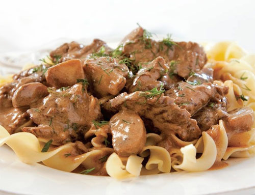 Recipe of the day: Beef Stroganoff