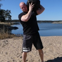 Sandbag to Shoulder
