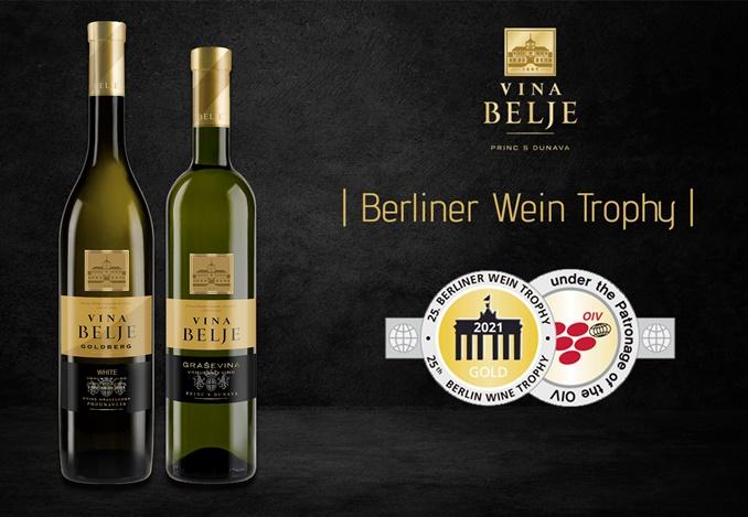 Vina Belje - zlatna medalja Berliner