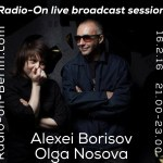Olga Nosova and Alexei Borisov, Interview + short live sets – Live from Oranien Studio, Berlin