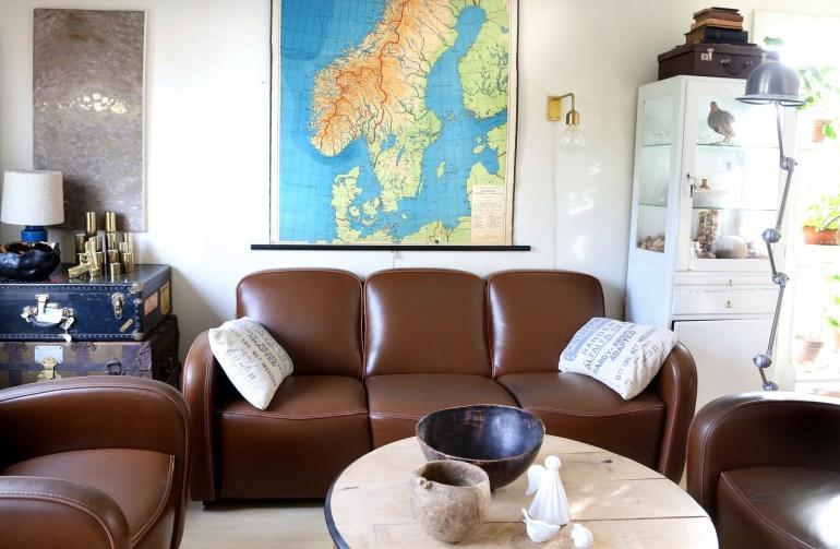 Interiørrep hjemme hos Ragnhild Henriksen på Drengsrud