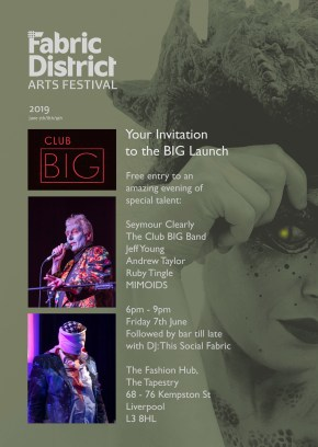 CLUB BIG Fabric District flyer