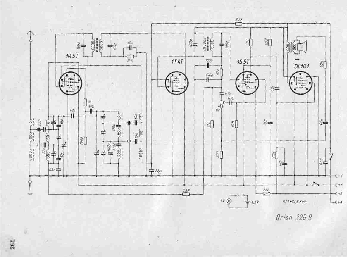 Free Service Manuals Vintage Valve Radio Circuits Schematics