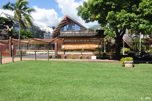 L'Assemblée de la Polynésie française © APF