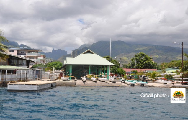 Centre nautique Hititai de Taunoa © Ville de Papeete