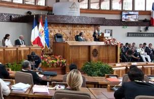 Victorin Lurel à l'Assemblée de Polynésie française