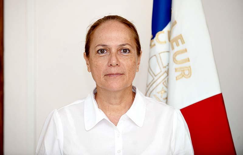 Maite Sacault, commandant du STIG depuis le 1er décembre 2013 © Cédric VALAX