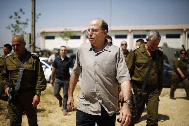 Moshe Yaalon, le ministre israélien de la Défense © REUTERS