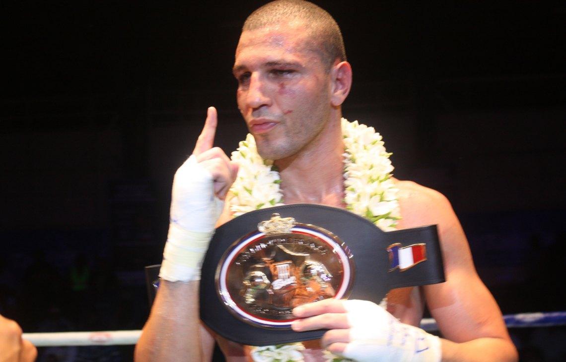 Bilel-Latreche champion de boxe de France  © Vaite