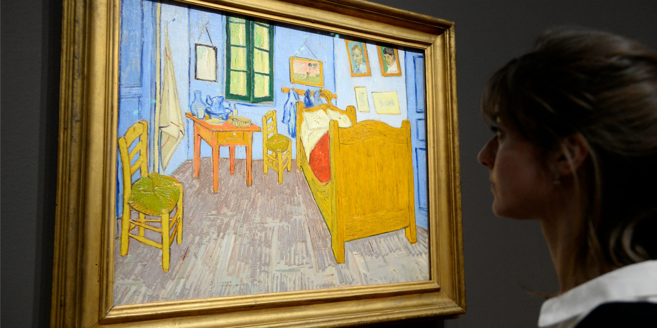 a chicago on peut dormir dans la chambre de van gogh pour dix dollars radio1 tahiti. Black Bedroom Furniture Sets. Home Design Ideas