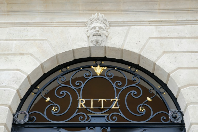 La façade de l'hôtel Ritz à Paris, le 27 mai 2016. © AFP