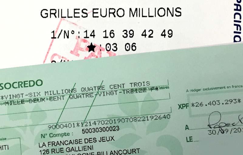Le Gagnant Polynésien à L Euro Millions S Est Manifesté