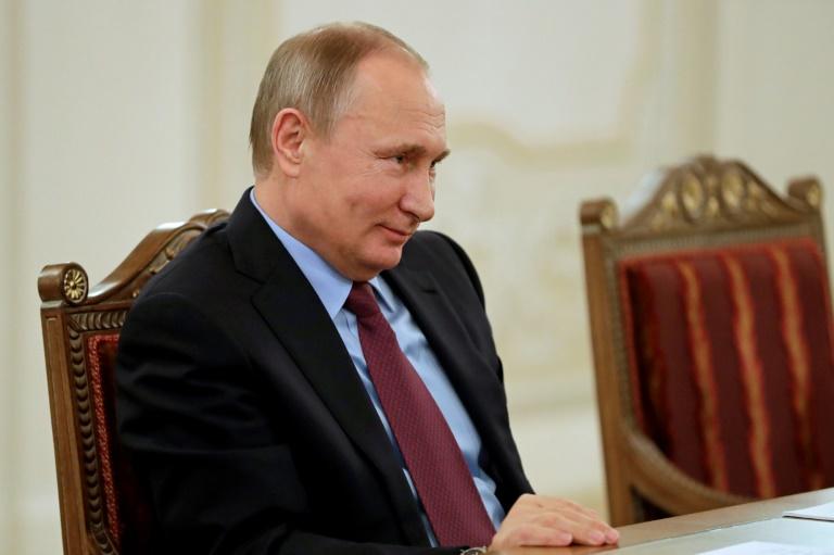 Le président russe Vladimir Poutine, le 2 décembre 2016 à Saint-Pétersbourg. © AFP