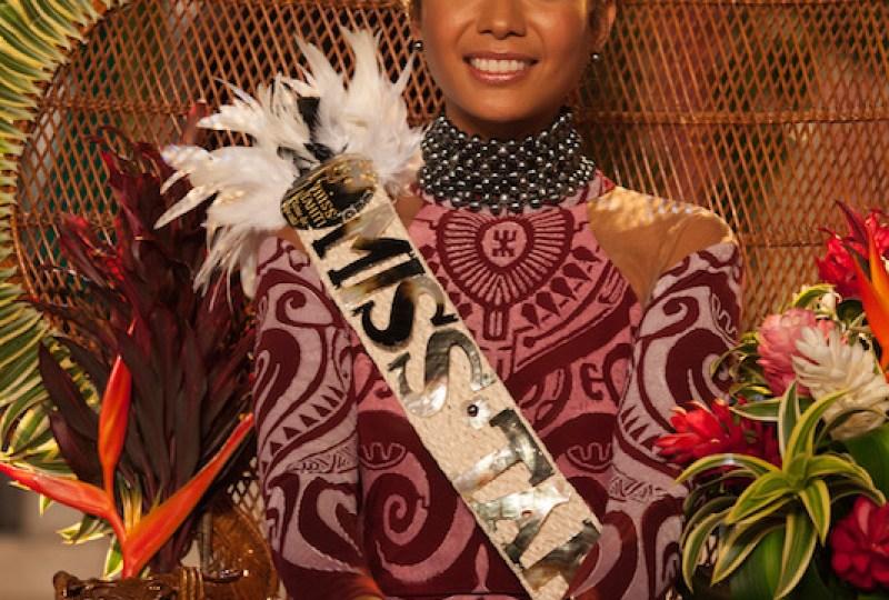 Miss Tahiti 17