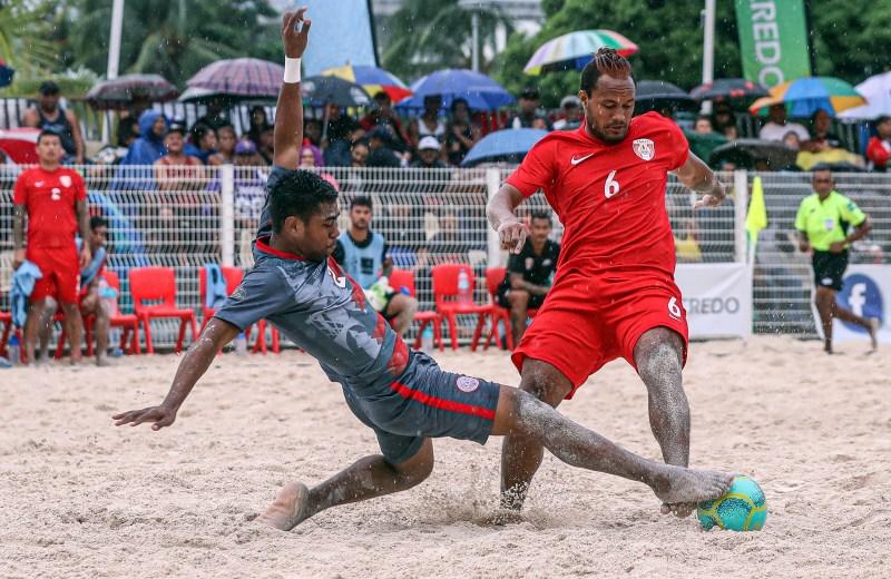 OFC Beach Soccer Nations Cup 2019, New Caledonia v Tahiti