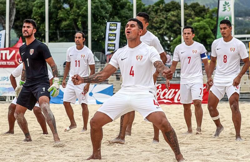 OFC Beach Soccer Nations Cup 2019, Solomon Islands v Tahiti