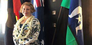 Claire Scott, consule générale d'Australie