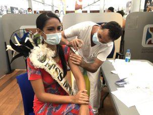 Miss Tahiti -Tumateata Buisson-Vaccin Pfizer