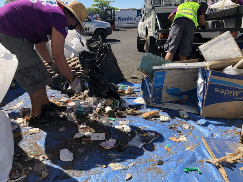 déchets-clean up day-nautisport