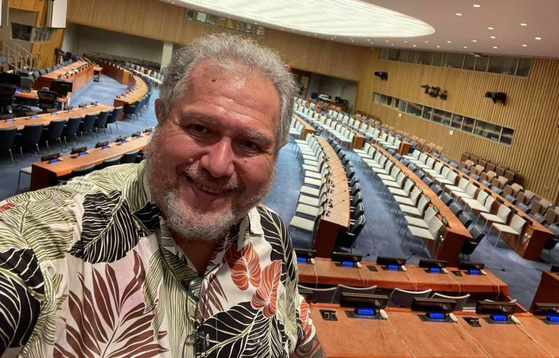 ONU-Quatrième commission-Moetai Brotherson
